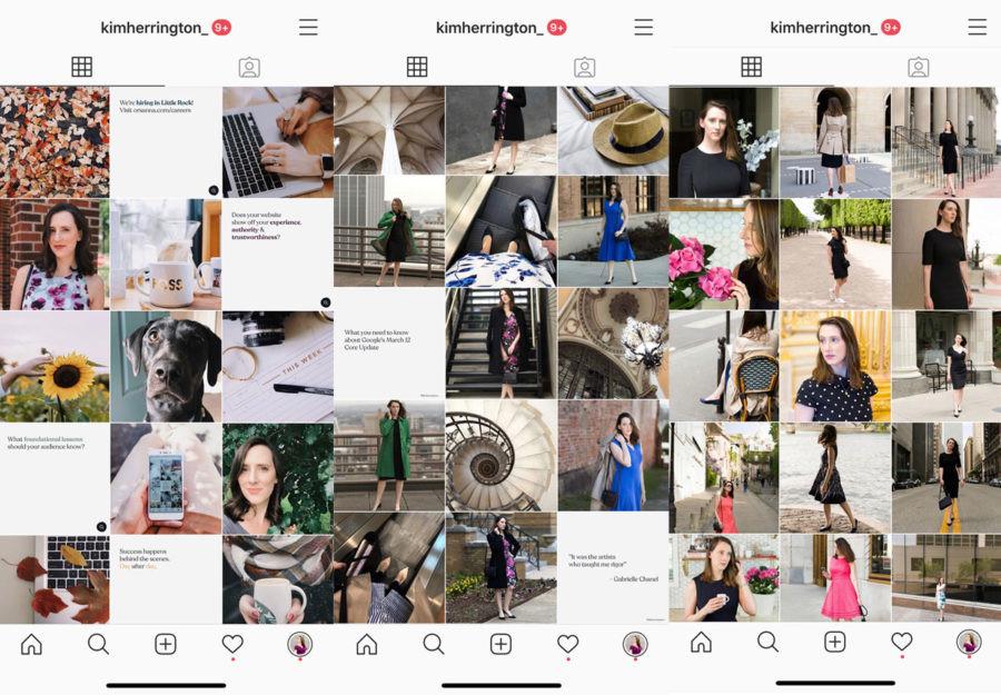 Improve your instagram aesthetic