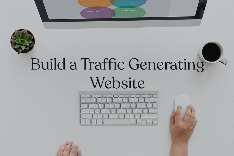 how to increase website traffic with a traffic generating website