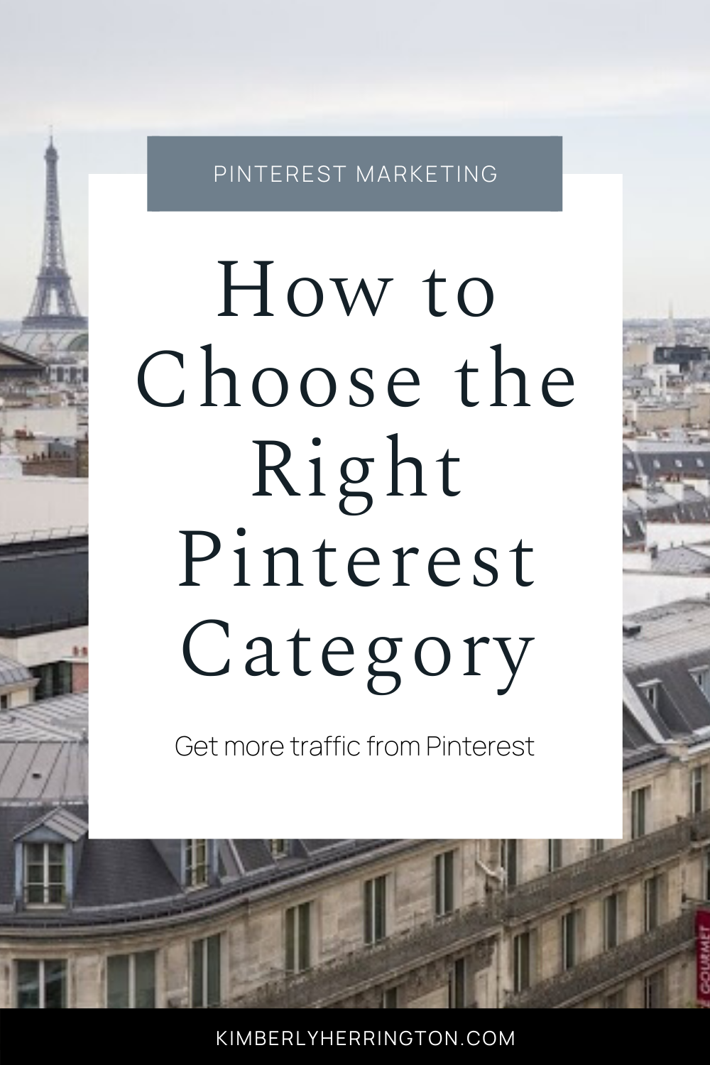 Top Pinterest Categories To Drive Traffic