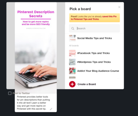 How to write pinterest pin descriptions