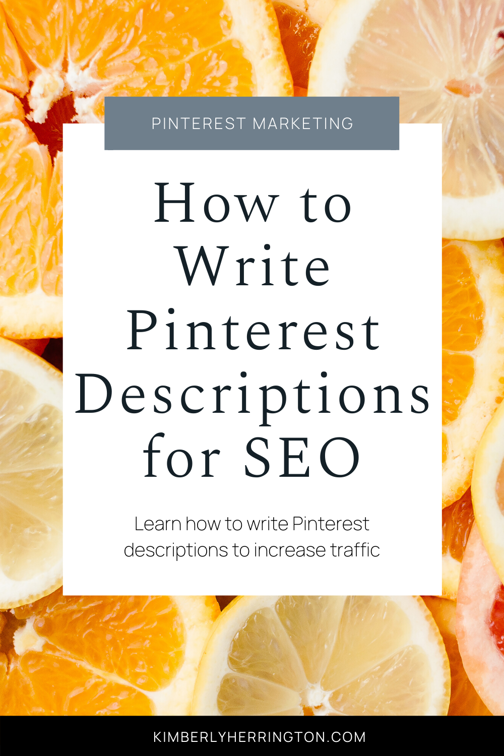 SEO and Pinterest Description Secrets